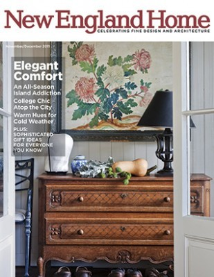 Terrat Elms Featured in New England Home