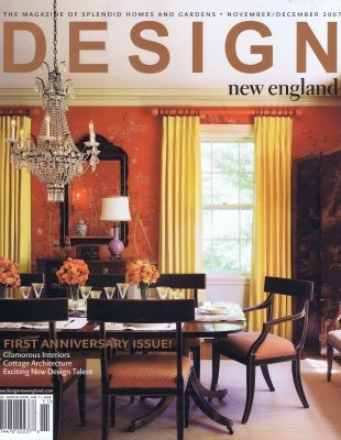 Elms Interior Design Featured in Design New England's Nine on the Rise