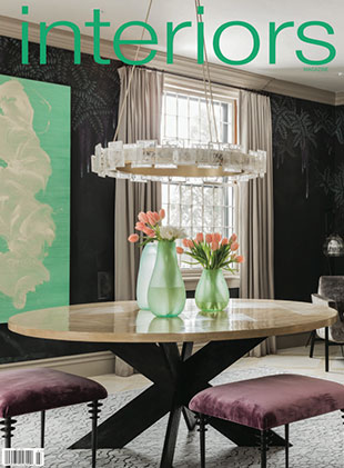 Elms Interior Design Featured in Interiors Magazine