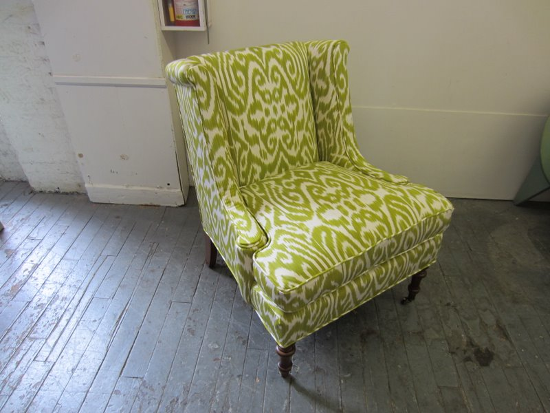 Madeline Weinrib Celery Luce Chair 1