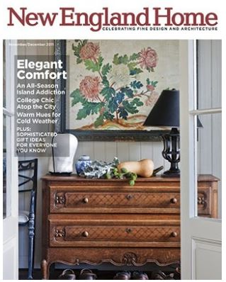 Elms Interior Design Featured in New England Home