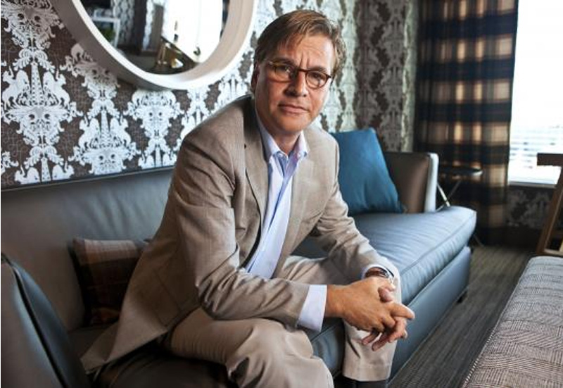 aaron sorkin at the W interior design