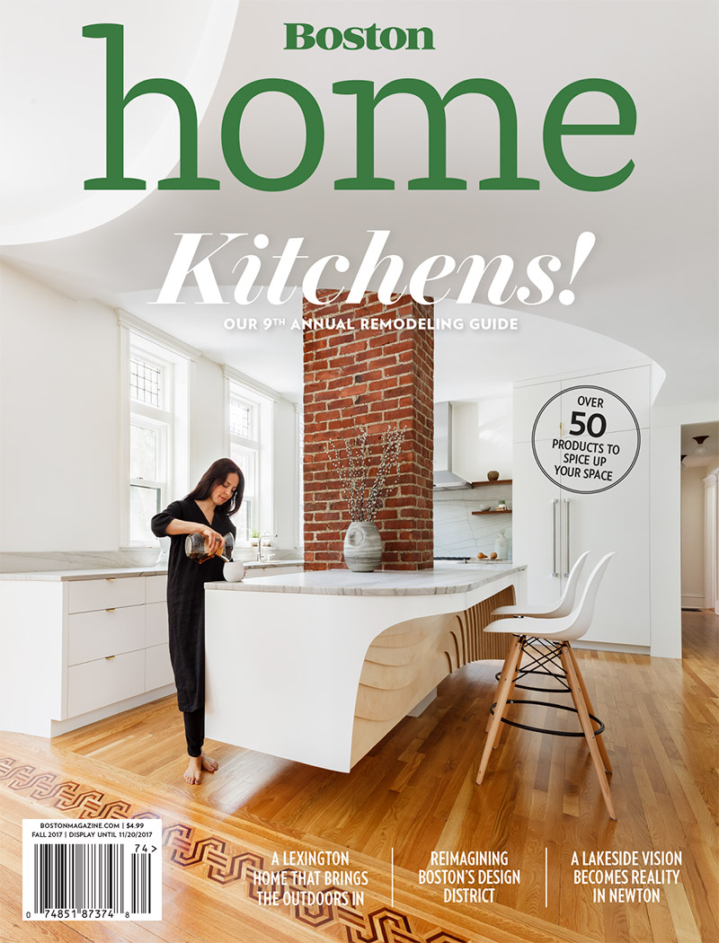 Elms Interior Design Featured in Fall 2017 Issue of Boston Home Magazine