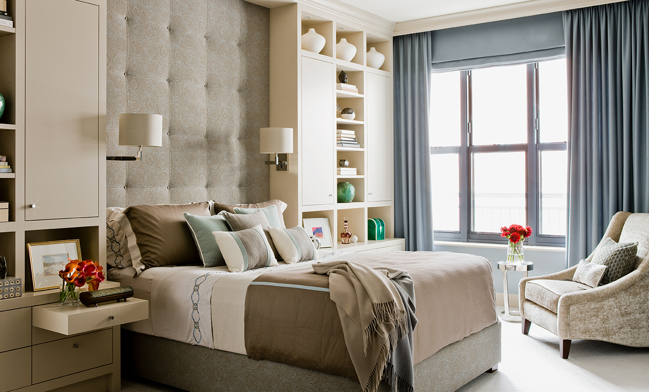 Bryant Residence, Back Bay – Master Bedroom